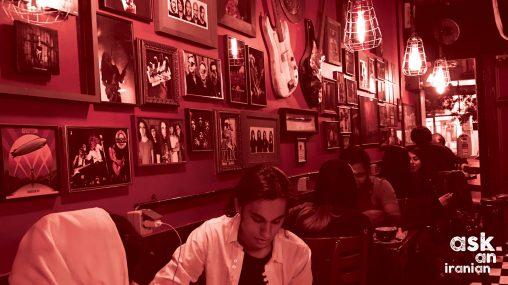 Café Paradiso, Tehran