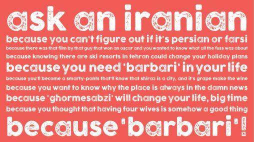 #AskAnIranian