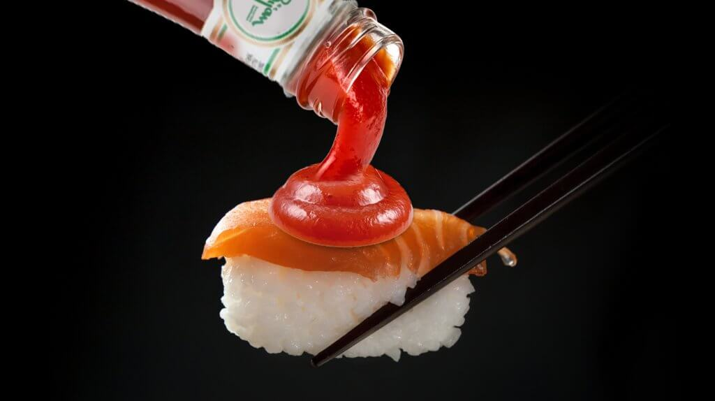 Ask An Iranian - What do Japanese people think of Iranian-made sushi? Tomato ketchup on sushi