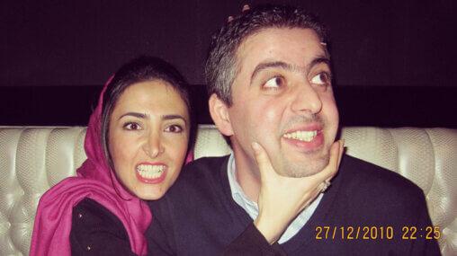 Ask An Iranian - How do I propose to an Iranian girl? - Iranian couple after proposal