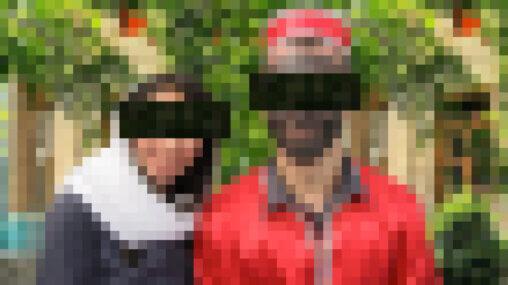 Ask An Iranian - Norooz, Norouz, Nowruz? - Pixelated person dressed as Hajji Firuz