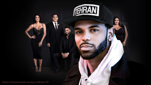 Ask An Iranian - Why do Iranians black-face? (feat. Tehran Von Ghasri) - Photo of Shahs of Sunset courtesy of Bravo TV