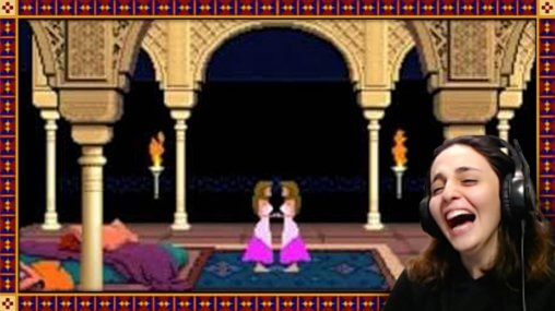 Ask An Iranian - Yeggiz playing the video game, Prince of Persia