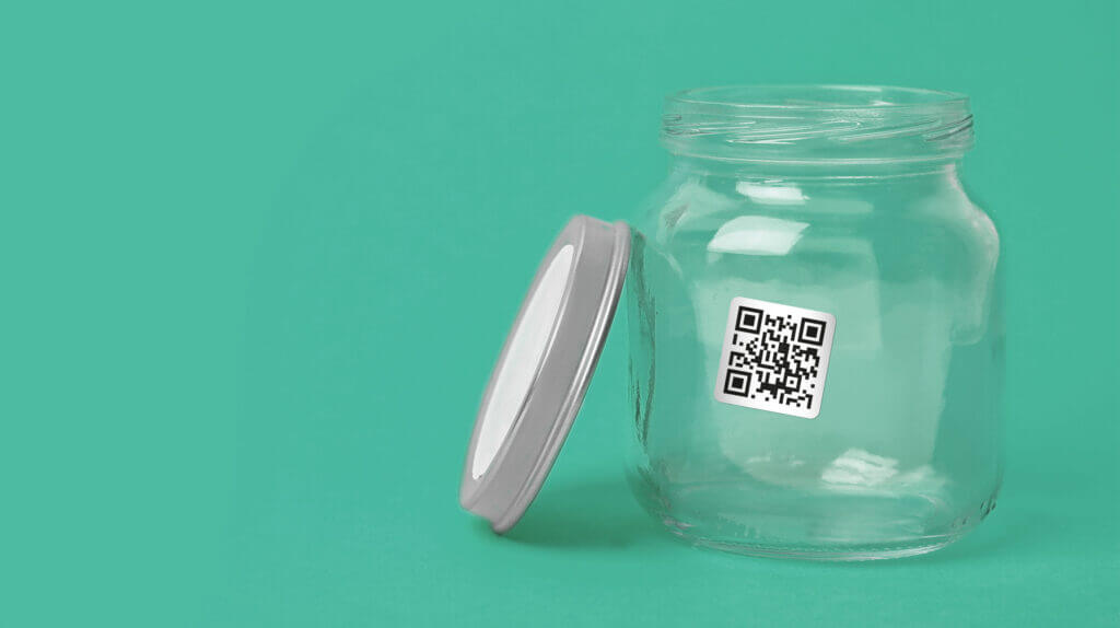 Ask An Iranian - Tip jar with a QR code leading to the support page