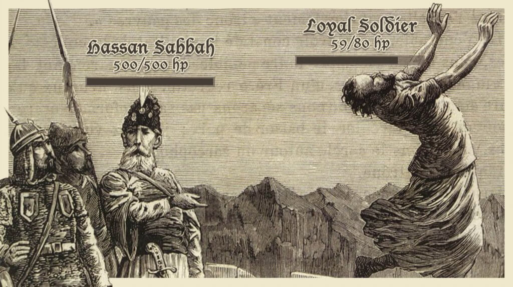 Ask An Iranian - Hassan Sabbah at Alamut Castle as his loyal soldiers sacrifice themselves for him - Am I also expected to die for an Iranian?