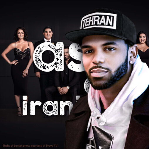 Why do Iranians blackface? (feat. Tehran Von Ghasri)