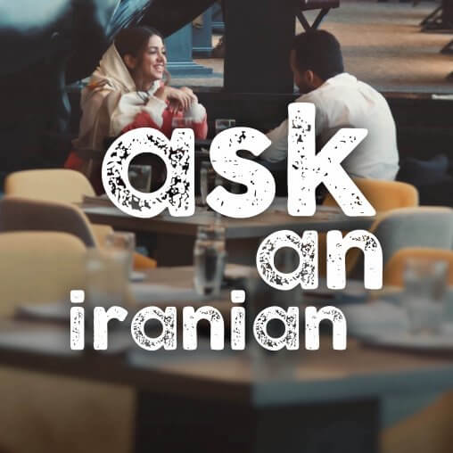 ask an iranian where do I go for a first date in Iran