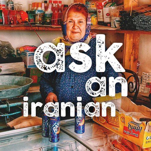 ask an iranian why wont Iranians take my money